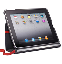 This Exclusive iPad Case Folds And Holds It In Place!
