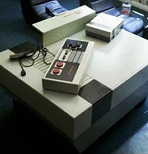 Nintendo NES Coffee Table: The Retro Cool Is Unmistakable!