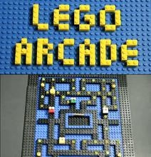 Oldschool Arcade Games | In Lego