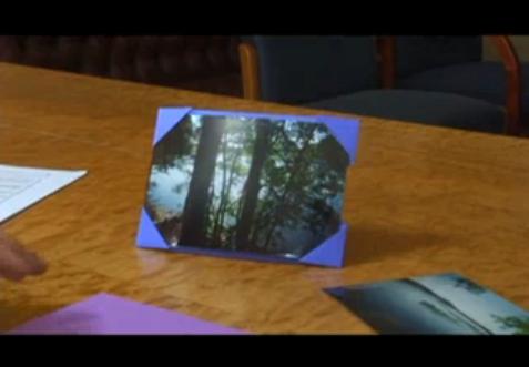 DIY – Origami Photo Frame Design