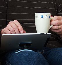 PadPivot: Turns Your iPad Into A LapPad