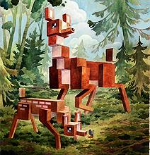 Impressive Fable Pixel Wildlife World Art