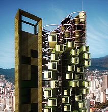 The High Rises Of Tomorrow Come In Prefabricated Blocks!