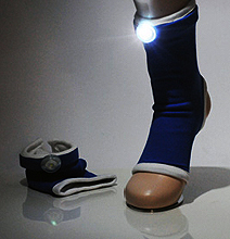 Sock Streetlights: Let Your Feet Show You The Way