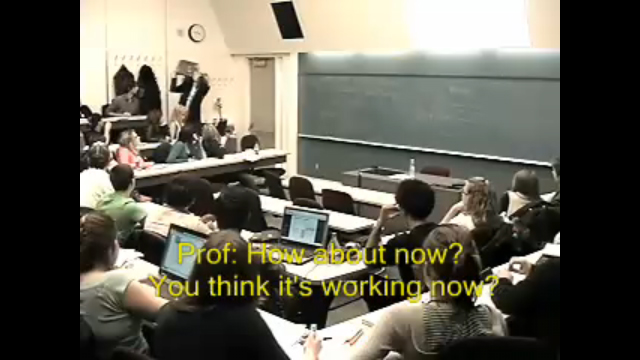Professor Smashes Laptop – Anger Management?