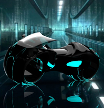 The TRON Light Cycle Re-Imagined!
