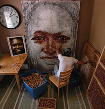 """Cork Portraits: """"Put A Cork In It"""" Gets A Whole New Meaning"""