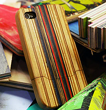 Be A Rebel: Get A Recycled Skateboard iPhone Case