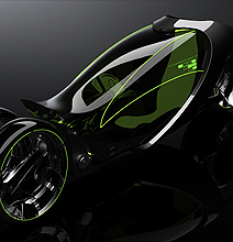 Tron Bike Reimagined – Hyundai Is Focusing On Speed