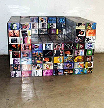 The Awesome Retro Use Of Recycled Cassettes
