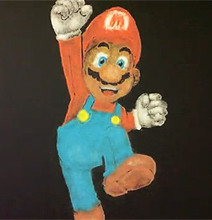 Art With Salt: Link & Super Mario Created With Salt [Videos]