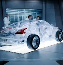The World's First Working Transparent Car