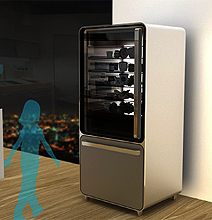 The Next Generation Fridge – Yes, It's All About Touch!