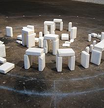 Soaphenge: The Cleaner Version Of Stonehenge