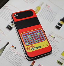 Speak & Spell: Simple iPhone 4 Retro Overhaul Decal