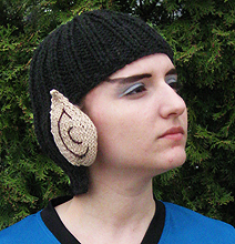 Knitted Spock Hat: How Star Trek Fans Keep Their Domes Warm