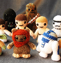 Mini Star Wars Amigurumi | Cuddly Is Finally Cool