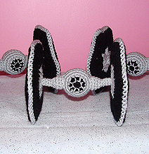 Crocheted Star Wars Tie Fighters: A Softer Edge To The Dark Side