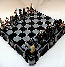 Star Wars Lego Chess Board: The Climax Of Genius!