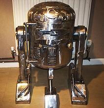 Star Wars Interior Design: R2-D2 Wood Burner For The Cold