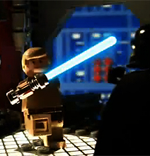 Lego Star Wars: Hilarious Stop Motion Recap Of Entire Trilogy
