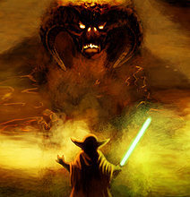 Star Wars Meets Lord Of The Rings: Nuff Said!