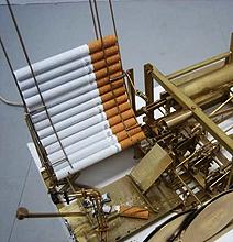 Steampunk Chain Smoking Machine