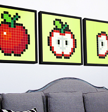 Stickaz: Pixel Customization Stickers For Your Own Wall Art