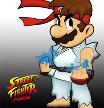 Super Mario vs. Street Fighter: The Epic Mashup [10 Pics]