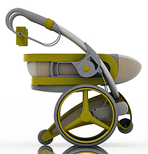 Future Stroller: Babies Roll Majestically In Style