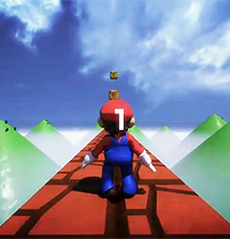 Super Mario As A First Person Shooter Game