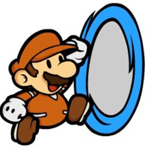 Super Mario Portal: The Real Gameplay [Video]
