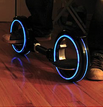 Real TRON Skatecycle: The Age Of TRON Has Arrived!