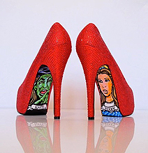 Ruby Slippers: Heels Can Be Design Heavy Too!