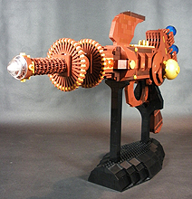 Lego Ray Gun: Insane Build With Amazing Retro Feel