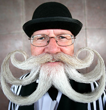 The craziest Beard in The World!