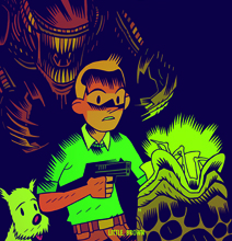 Tintin Joins The Mashup Lineup With Alien, Tron & More