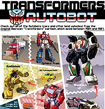 Transformers: The Cars Behind The Robots [Infographic]