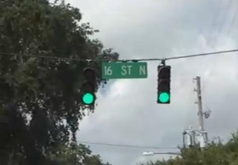 Trigger Green Traffic Lights