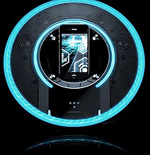 iPhone Audio Dock Breathes Tron All Over Your Home!
