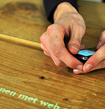 TwitnicTable: The All Knowing Twitter Table Surface!
