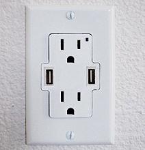 U-Socket | Power / USB Wall Socket