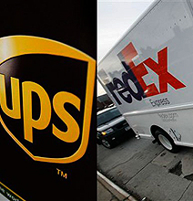 ups vs fedex surprising stats compared infographic