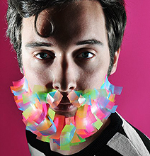 Unusual Colorful Creative Beards