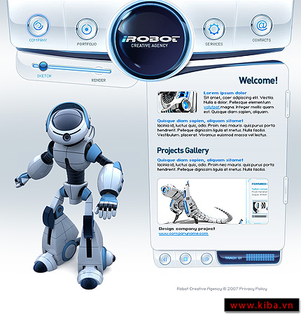 Web Design | From a Robots Perspective