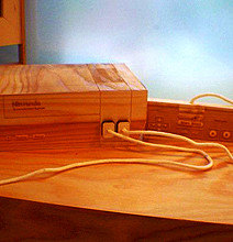 Can't Afford A Real Nintendo Console? Buy A Wooden One!