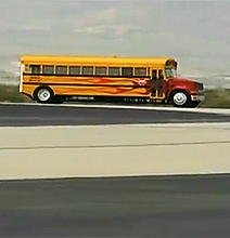 The World's Fastest School Bus Does 367 Mph!