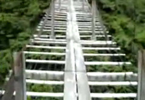 Worlds Scariest Bridge – Would you?