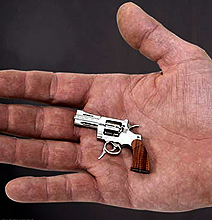 The World's Tiniest Guns – With These There Would Be No Wars!