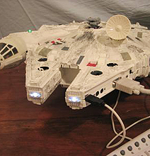 Beautification: The Star Wars Millennium Falcon XBox Mod
